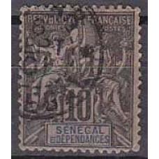 1892 Senegal Michel 12 used 8.00 €