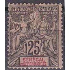 1892 Senegal Michel 15* 20.00 €