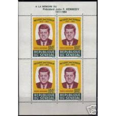 1964 Senegal Michel 295/B2 J.F.Kennedy 13.00 €
