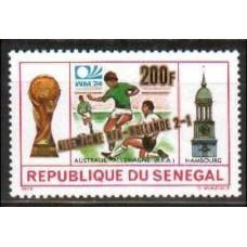 1975 Senegal Michel 561 Overprint # ALEMANIA RFA- HOLLANDE-2-1 3.60 €