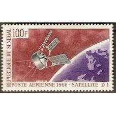 1966 Senegal Mi.335 Satellite D-1 2,80 €