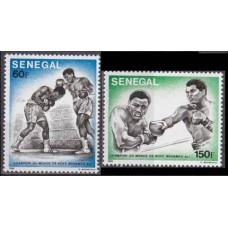 1977 Senegal Mi.624-625 Boxing 3,20 €