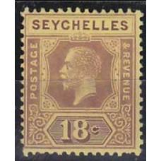 1913 Seychelles Mi.80x* George V 4.50 €