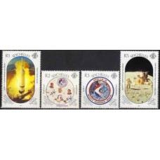 1989 Seychelles Mi.694-697 Apollo 15 5,00 €