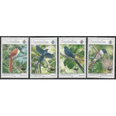 1996 Seychelles Mi.798-801 WWF