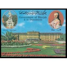 1970 Sharjah Mi.B74b W. A. Mozart 9,00 €