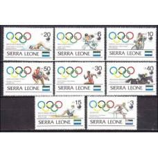 1989 Sierra Leone Mi.1164-1171 1988 Olympiad Seoul 16,00 €