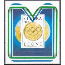 1987 Sierra Leone Mi.1001/B61 1988 Olympiad Seoul 9,00 €