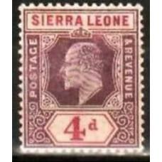 1905 Sierra Leone Mi.61* Edward VII 11.00