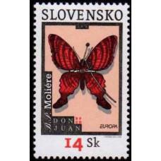 2003 Slovakia Mi.454 Butterflies 1,00 €
