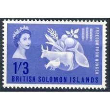 1963 Solomon Islands British Mi.101 Fauna 5,50
