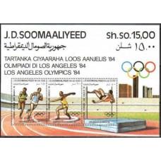 1984 Somalia Mi.353-355/B15 1984 Olympiad Los Angeles 8.00 €