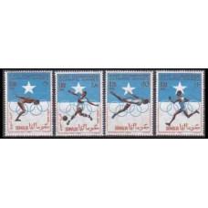 1964 Somalia Mi.60-63 1964 Olympiad Tokio 5,00 €