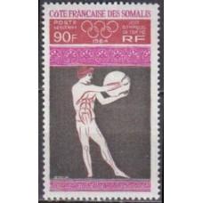 1964 Cote Francaise de Somalis Mi.362 1964 Olympics Tokyo 13,00 €