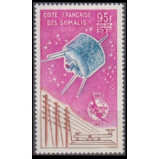 1965 Cote Francaise de Somalis Mi.365 Satellite - Syncom 20,00 €