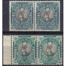 1937 Suid-Africa Michel 107-8a Paar+107-8bPaar** 12.50 €