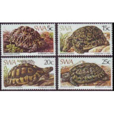 1982 South West Africa(SWA) Mi.516-519 Reptiles