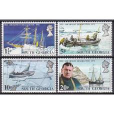 1972 South Georgia Mi.39-42 Ships with sails 10,00 €