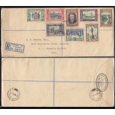 1940 Sourhern Rhodesia cover Registered mail €