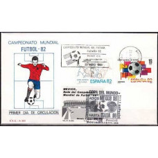1980 Spania cover 1982 World championship on football of Spanien €