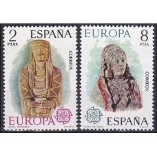 1974 Spain Mi.2072-2073 Europa 1,50