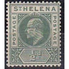 1902 St Helena Mi.28* Edward VII 3.00 €