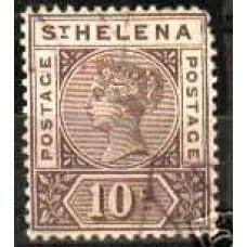 1896 St Helena 27 used Victoria 80.00 €