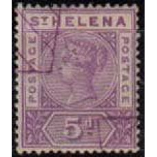 1896 St Helena Michel 26 used Victoria 40.00 €