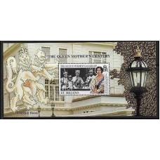 1999 St Helena Mi.764/B24 The Queen Mother's Century 6,00 €