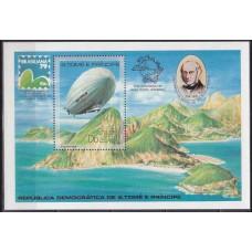 1979 St Tome E Principe Mi.584/B36 Balloon / Stratosphere 25,00 €
