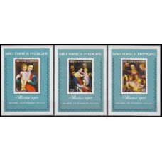 1977 St Tome E Principe Mi.484/B4-486/B6 Piter Paul Rubens 25,00 €