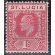 1907 St Lucia Mi.48* George V 6.00 €