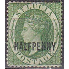 1881 St.Lucia Michel 11* Victoria 85.00 €