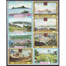 1971 St Lucia Mi.288-295Paar Ships with sails 3,50 €