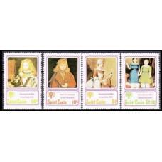 1979 St Lucia Mi.462-465 Pablo Picasso 3,20 €