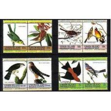 1985 St Vincent & Grenadines-Union Island Mi.78-85 Audubon 6.00 €