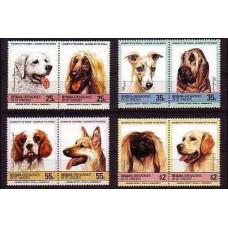 1985 St Vincent & Grenadines-Bequie Mi.90-97 Dogs 5.50 €