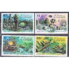 1976 Grenadines (St V) Mi.75-78 Sea fauna 3,00 €
