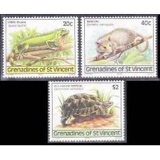 1979 Grenadines (St V) Mi.169-171 Fauna 1,90 €