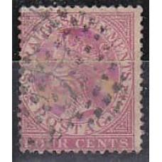1872 Stratis Settlementes Michel 11b used 15.00 €