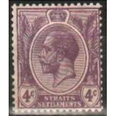 1913 Stratis Settlementes Mi.140* George V 2.40