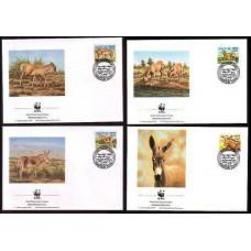 1994 Sudan Mi.471-474FDC WWF / Fauna 5,00 €