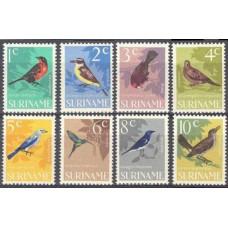 1966 Surinam Mi.484-491 Birds 2,40 €