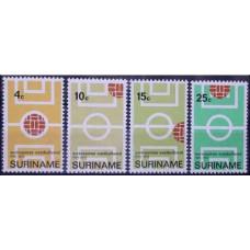 1970 Surinam Michel 584-587 Football 1.30 €