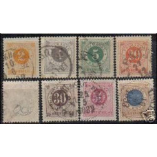 1886 Sweden Michel 29.31-2.34-7 used 15.70 €