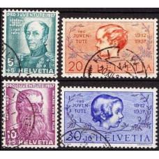 1937 Switzerland Mi.31-317 used Famous People 9.50 €