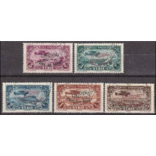 1939 Syria Mi.405-409 used overprint 27.50 €