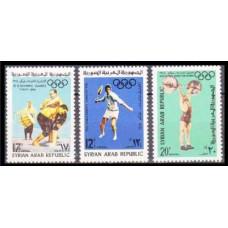 1965 Syria Mi.890-92 1964 Olympiad Tokio 1,30 €