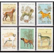 2006 Tadjikistan Mi.447-452 Dogs 9,00 €