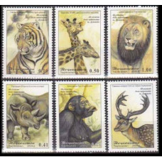 2002 Tadjikistan Mi.220-225 Fauna 4,80 €